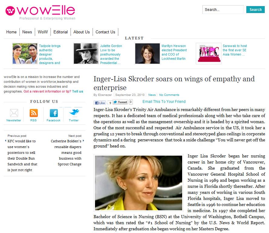 Inger Lisa Skroder - The Enterprising Woman