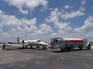 Trinity Air Ambulance Fueling Before Medical Evacuation